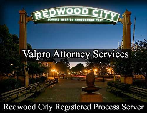 Redwood City California Registered Process Server