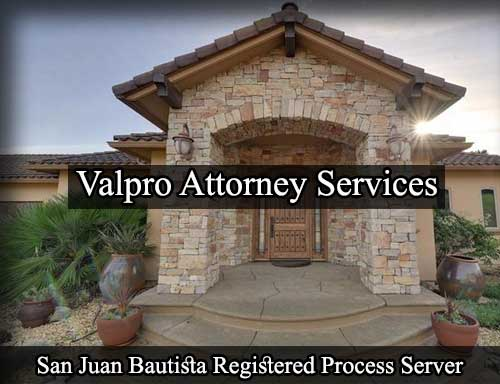 San Juan Bautista California Registered Process Server