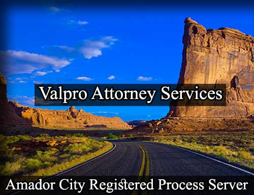 Amador City California Registered Process Server