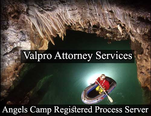 Registered Process Server in Angels Camp