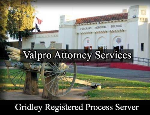 Gridley California Registered Process Server