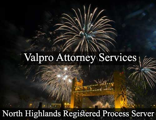North Highlands California Registered Process Server