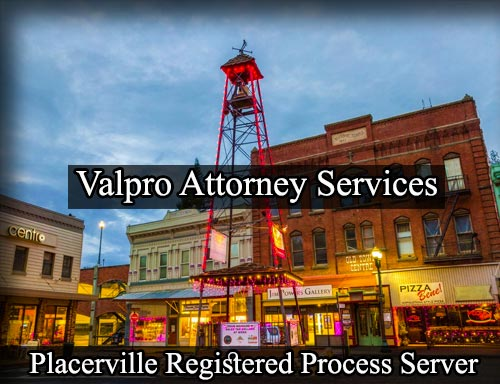 Registered Process Server in Placerville