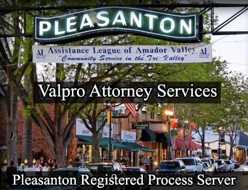 Pleasanton California Registered Process Server