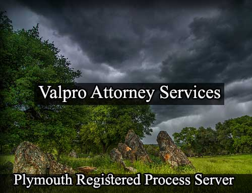 Registered Process Server in Plymouth