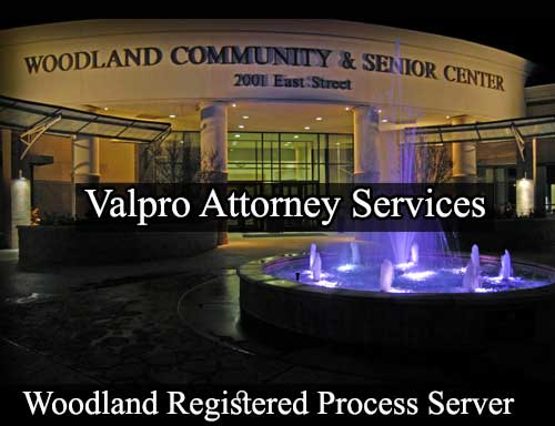 Registered Process Server in Woodland