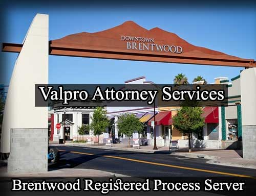 Registered Process Server Brentwood