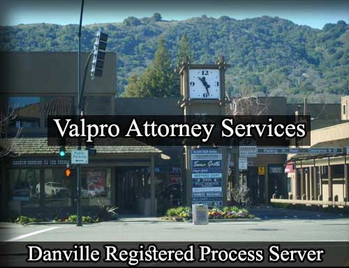 Danville California Registered Process Server