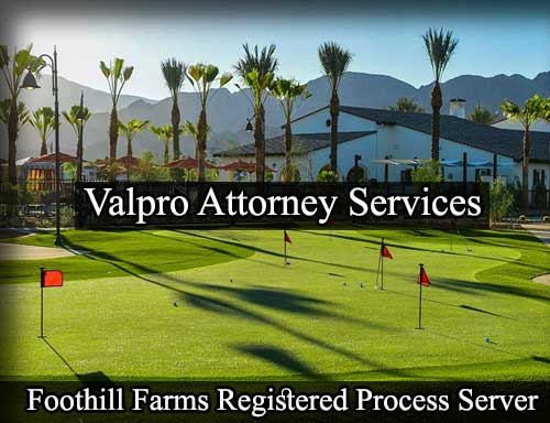 Foothill Farms California Registered Process Server