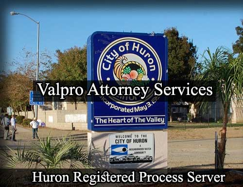 Huron California Registered Process Server