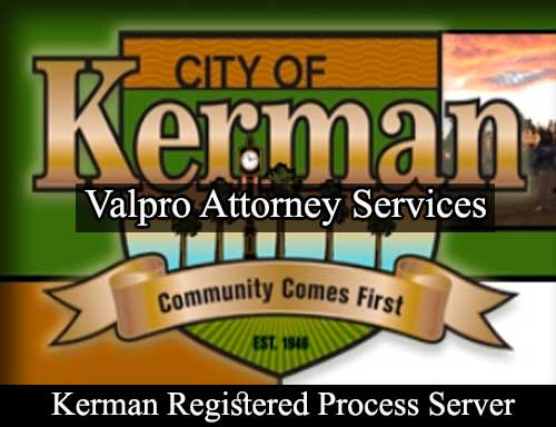 Registered Process Server in Kerman