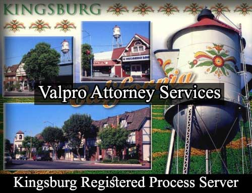 Kingsburg California Registered Process Server