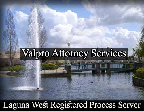 Registered Process Server in Laguna West