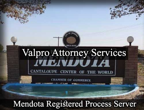 Mendota California Registered Process Server