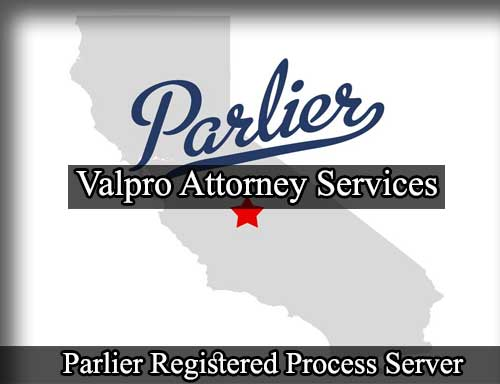 Registered Process Server in Parlier