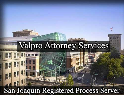 Registered Process Server San Joaquin