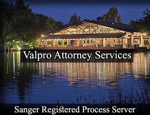 Sanger California Registered Process Server
