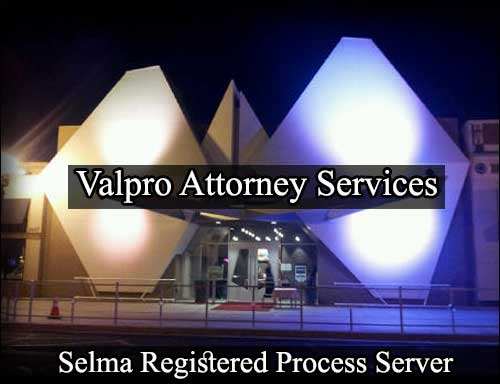 Registered Process Server Selma