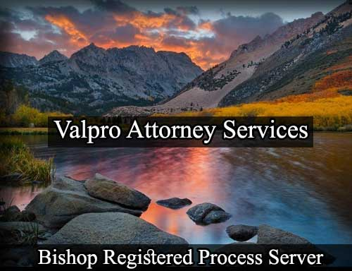 Registered Process Server Bishop