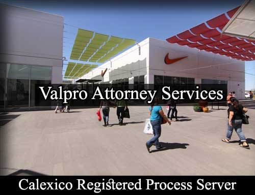 Registered Process Server Calexico