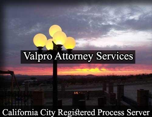 California City Registered Process Server