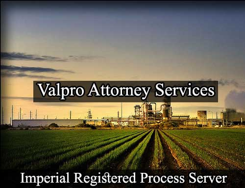Imperial California Registered Process Server