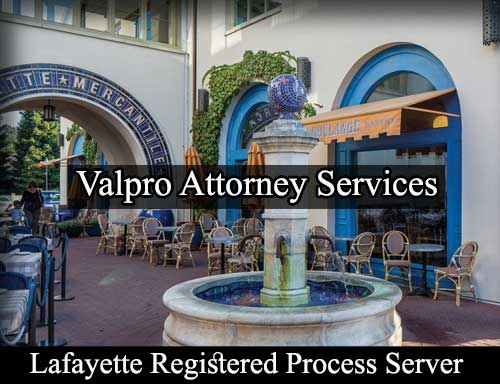 Registered Process Server Lafayette