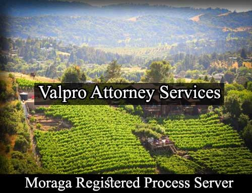 Moraga California Registered Process Server