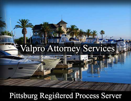Pittsburg California Registered Process Server