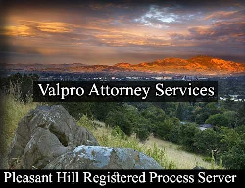Registered Process Server Pleasant Hill