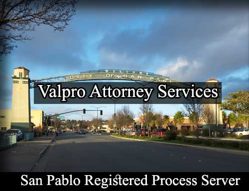 Registered Process Server San Pablo