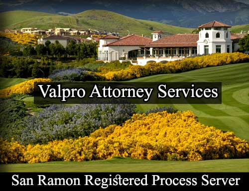 Registered Process Server San Ramon