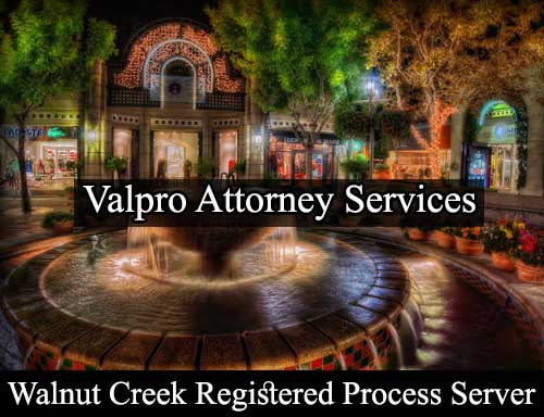 Registered Process Server Walnut Creek
