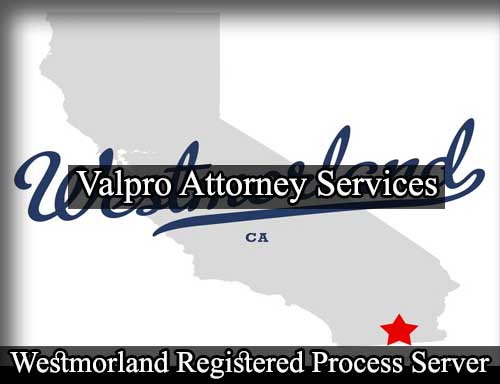 Registered Process Server Westmorland