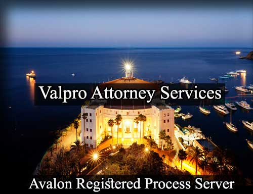 Registered Process Server Avalon