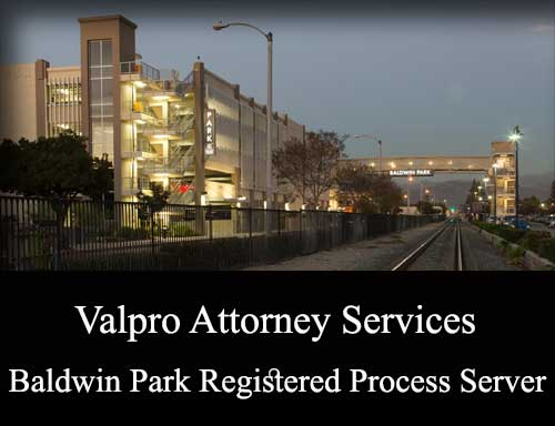 Registered Process Server Baldwin Park