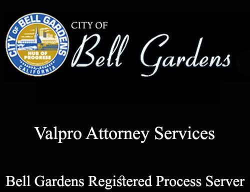 Registered Process Server Bell Gardens
