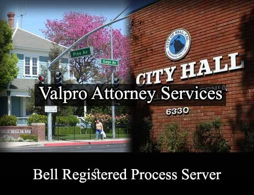 Bell California Registered Process Server