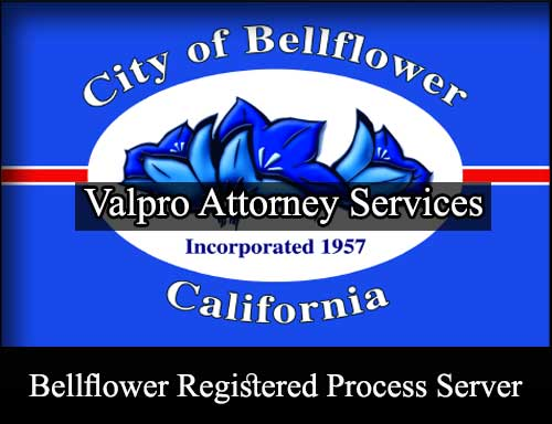 Bellflower California Registered Process Server