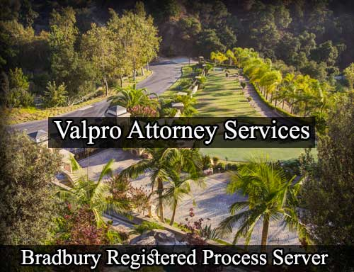 Bradbury California Registered Process Server
