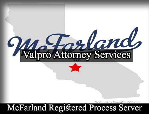 Registered Process Server McFarland