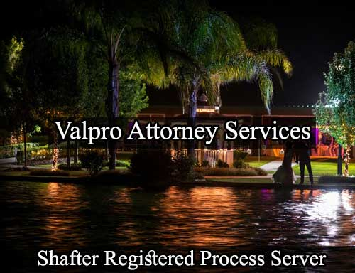 Registered Process Server Shafter
