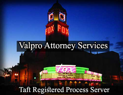 Taft California Registered Process Server
