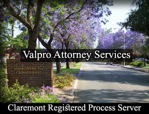 Registered Process Server Claremont