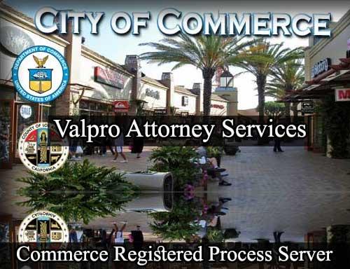 Commerce California Registered Process Server