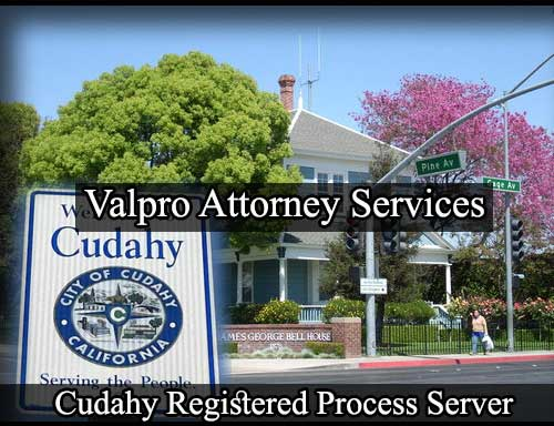 Registered Process Server Cudahy