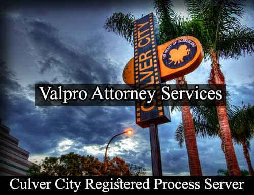 Registered Process Server Culver City