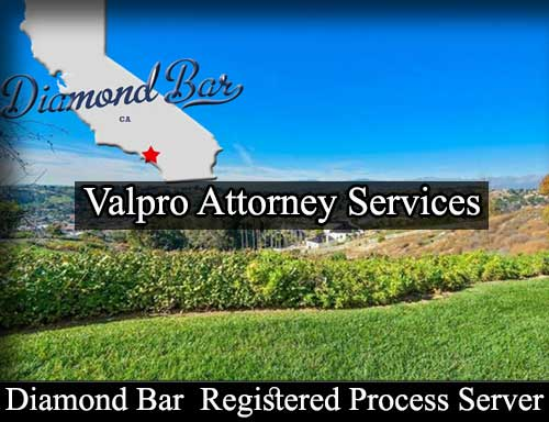 Diamond Bar California Registered Process Server