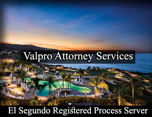 Registered Process Server El Segundo