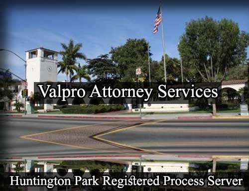 Registered Process Server Huntington Park